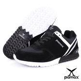 PAMAX帕瑪斯極品: 獨家首創【專利止滑鞋底】兼具運動、休閒、慢跑鞋功能-PP369-WWB-男女