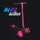 Holiway 哈樂維 YVolution Neon Glider 炫光滑板車(粉)