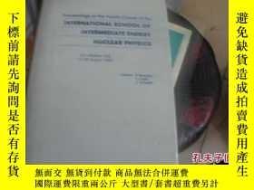 二手書博民逛書店INTERNATIONAL罕見SCHOOL OF INTERME