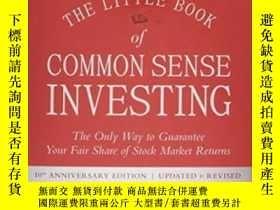 二手書博民逛書店The罕見Little Book Of Common Sense InvestingY364153 John
