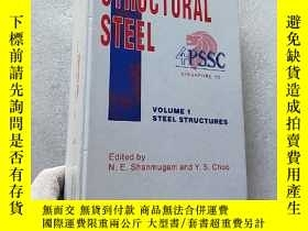 二手書博民逛書店STRUCTURAL罕見STEEL 4PSSC VOLUME 1