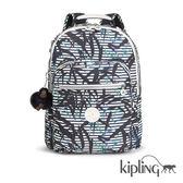 Kipling 叢林印花後背包-大