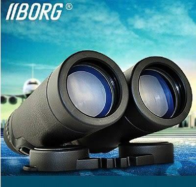 BORG高倍雙筒望遠鏡 高清夜視袖珍wyj 充氮防水折疊