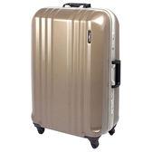 日本MON JAPAN 26吋 硬殼鋁框皮箱│行李箱 MF1028 旅行│出國│旅遊