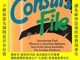 二手書博民逛書店The罕見Consul s FileY255562 Paul Theroux Penguin Books Lt