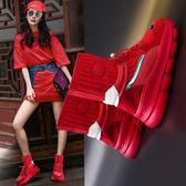 襪子鞋港風超火網紅襪子鞋新款運動韓版短靴女原宿學生百搭女鞋走心小賣場