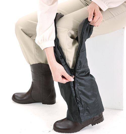 腳套/防水防風/保暖/下雨/走路/腳踏車機車/【Nizu】日本進口/最佳抗寒對策〔防水暖暖腳套〕