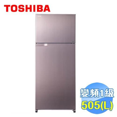 Toshiba 東芝 505公升雙門變頻冰箱 GR-H55TBZ