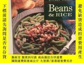二手書博民逛書店豆類與米食罕見Beans & Rice William-Sono
