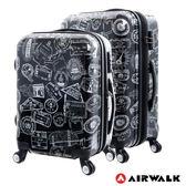 AIRWALK - 精彩歷程 環郵世界行李箱24+28吋2件組-共2色