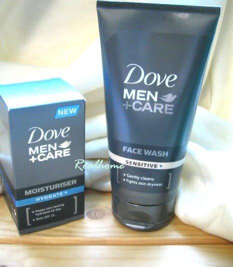 *禎的家* 原裝進口 DOVE多芬男士 保濕隔離乳 SPF15 + 敏感型洗面乳