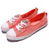 Converse 休閒鞋 Chuck Taylor All Star Ballet Lace 粉紅 白 低筒 煩布鞋 女鞋【PUMP306】 558291C