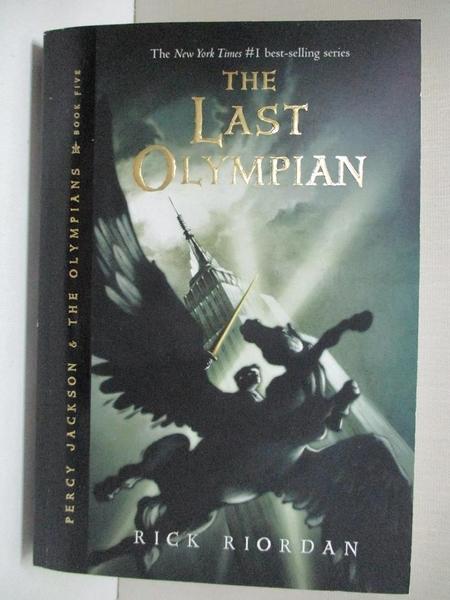 【書寶二手書T1/原文小說_BRQ】The Last Olympian_Riordan, Rick