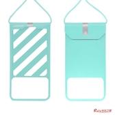 手機防水袋 潛水套觸屏游泳水下拍照防塵袋防水殼外賣蘋果華為通用 4色