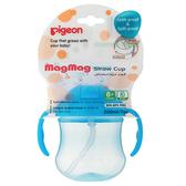 貝親 PIGEON 吸管莫哭杯~3色可選(綠色/粉色/藍色)