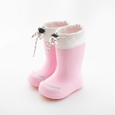 兒童雨鞋防滑寶寶膠鞋 男女童水鞋 防水中筒靴子【聚寶屋】