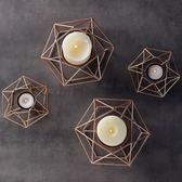 歐式燭光晚餐道具蠟燭臺裝飾擺件
