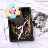 520情人節浪漫玫瑰花束走心創意生日女生閨蜜禮物手工香皂花禮盒XSX