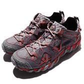 Merrell 戶外鞋 Waterpro Maipo 灰 橘 越野 運動鞋 休閒鞋 女鞋【PUMP306】 ML37550