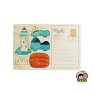 【收藏天地】印章明信片*鵝鑾鼻燈塔 ∕  印章 擺飾 送禮 趣味 文具 創意 觀光 記念品