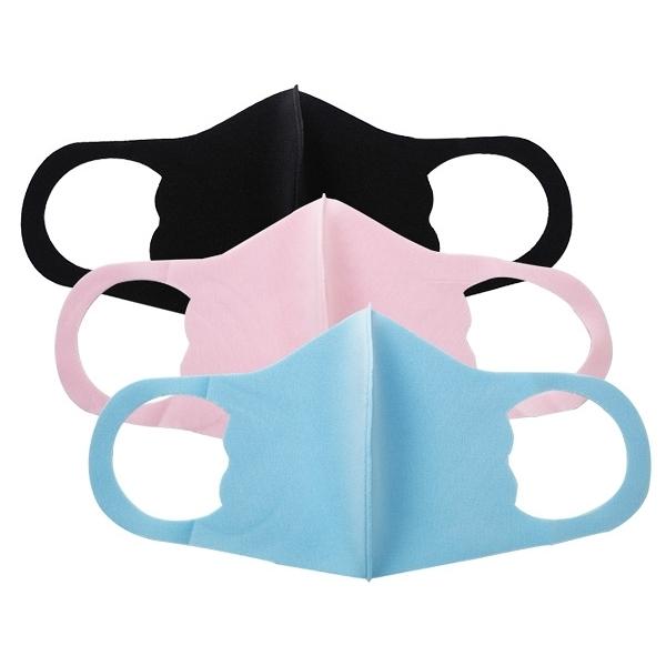 冰絲感輕薄型可水洗兒童口罩(1入) 顏色可選【小三美日】