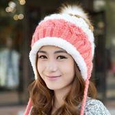 冬季帽子女冬天韓國潮甜美可愛青年毛線帽秋冬韓版女士針織帽百搭