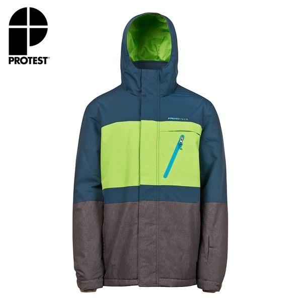 PROTEST 男 防水保暖外套 (皇家藍) BACKGRAB SNOWJACKET