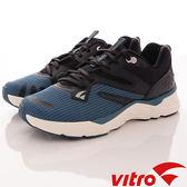 【VITRO】韓國專業運動鞋-Walking-NC-102時尚系列-頂級專業慢跑鞋-黑藍(男)