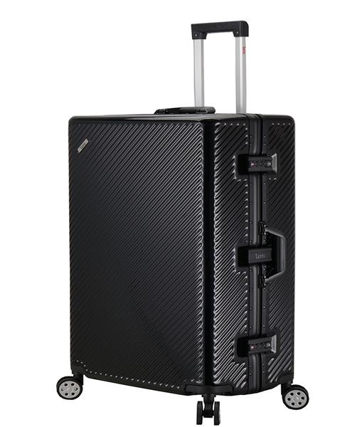 ~雪黛屋~splendid 29寸旅行箱進口專櫃鋁框雙海關鎖PC鏡面硬殼箱360度旋轉耐摔耐撞耐磨損#1245