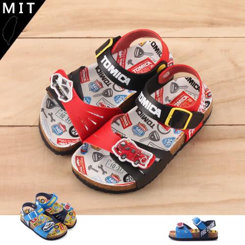 男童 日本 TOMICA 時尚配色休閒涼鞋 MIT製造  59鞋廊