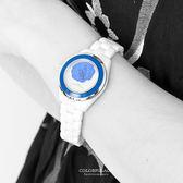 Valentino范倫鐵諾 獨特浮雕山茶花精密全陶瓷手錶腕錶 柒彩年代【NE1057】單支價格