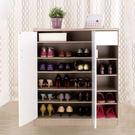 台灣製 雙門鞋櫃 大容量鞋櫃 附抽屜 鞋櫃 花語鞋櫃 日系質感《生活美學》