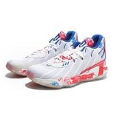 ADIDAS 籃球鞋 DAME 7 CHINA 白紅藍 中國風 彩繪 避震 男 (布魯克林) FZ1102