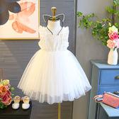 新春新品▶ 洋氣女童連身裙 新款兒童公主裙清涼鏤空裙子4228