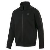 Puma Luxe 全黑 外套 男 流行系列 立領外套 運動 休閒 健身 慢跑 長袖外套 59707401