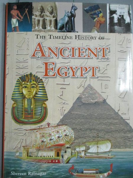 【書寶二手書T4/歷史_ZEF】The Timechart History of Ancient Egypt_Shere
