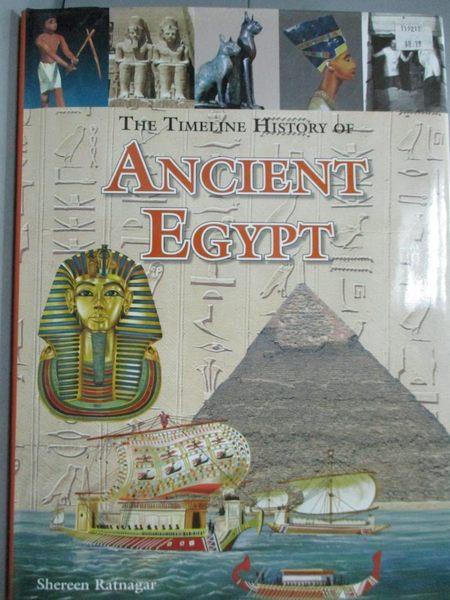 【書寶二手書T1/歷史_ZEF】The Timechart History of Ancient Egypt_Shereen Ratnagar