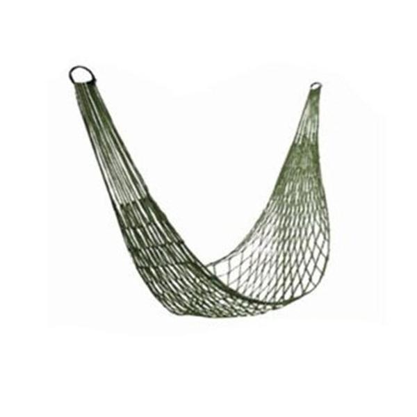 吊床軍綠色網狀戶外露營便攜加粗網狀單人送包裝尼龍網兜秋千 母親節禮物