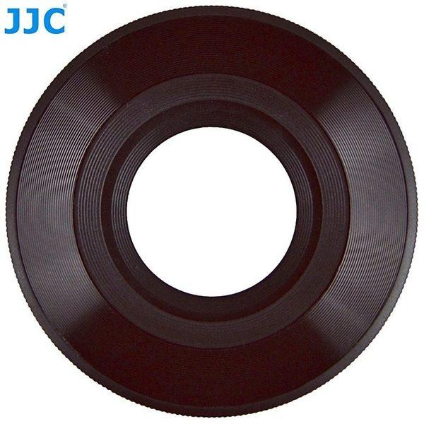 我愛買#JJC副廠銀黑Olympus自動鏡蓋MZD 14-42mm自動鏡頭蓋f3.5-5.6 EZ同LC-37C自動蓋LC37賓士蓋自動蓋