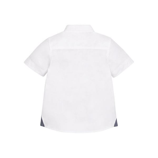 mothercare 白色雅痞短襯衫-流行文青(M0LF146)3A、5A、8A