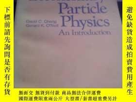 二手書博民逛書店(3)elementary罕見particle physics an introduction 基本粒子物理學引論