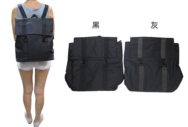~雪黛屋~COUNT 後背包中大型容量可A4資料夾中性款進口完全防水水晶布材質BCD50004701160