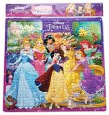 【卡漫城】 公主 100片 拼圖 7位 茉莉 ㊣版 兒童 迪士尼 長髮 貝兒 睡美人 灰姑娘 白雪 小美人魚