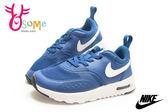 NIKE運動鞋 小童鞋 鬆緊帶 氣墊 Air Max Vision (TDE)休閒慢跑鞋O7000#藍◆OSOME奧森童鞋/小朋友