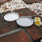 (BEAGLE) 圓型花盆托盤 創意水泥...