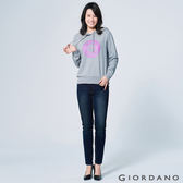 【GIORDANO】女裝刷色彈力緊身牛仔褲 (46 深靛藍)