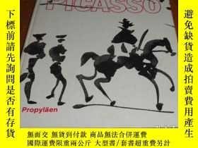 二手書博民逛書店2手德文罕見Picasso: Prints drawings 畢