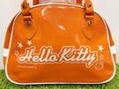 【震撼精品百貨】凱蒂貓_Hello Kitty~日本SANRIO三麗鷗 KITTY 防水袋/側背袋-橘#05266
