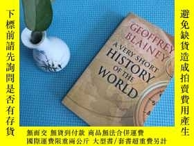 二手書博民逛書店a罕見very short history of the worldY205819 geoffrey blai
