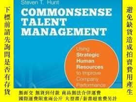 二手書博民逛書店Common罕見Sense Talent Management: Using Strategic Human Re